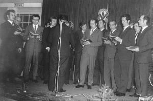 Männerchor 1970