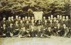 Vereinsfoto MGV Syrau 1912