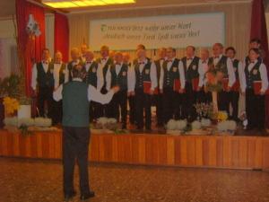 Erstes Kirmes-Singen 2008