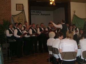 Festkommers des MGV Harmonie Ranspach