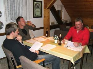 Vorbereitung Theaterstück 2009