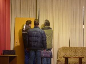 Vorbereitung Theaterstück 2010