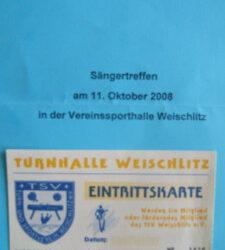 Sängertreffen Herbst 2008
