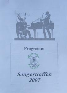Sängertreffen Herbst 2007