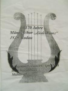 Sängertreffen Frühjahr 2008