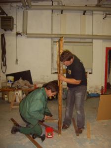 Vorbereitung Theaterstück 2008