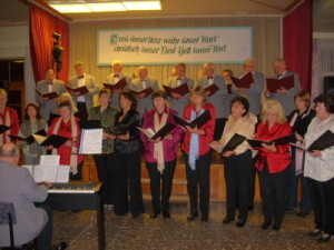 Kirmes-Singen Syrau 2009